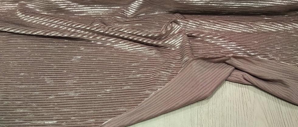 Punto rosado brillante elástico