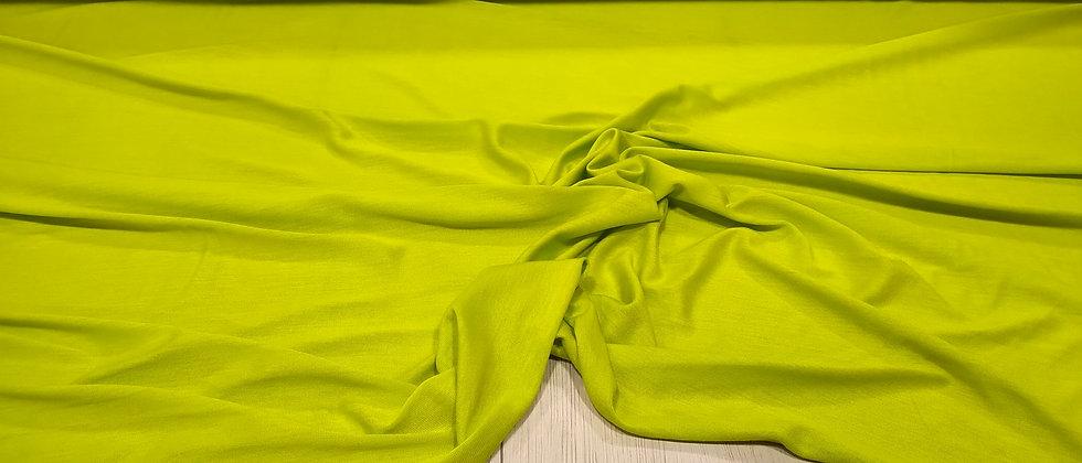 Punto de camiseta verde 1.70m ancho