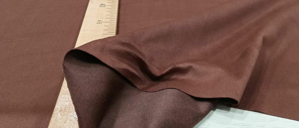 Antelina de punto elástico marrón chocolate