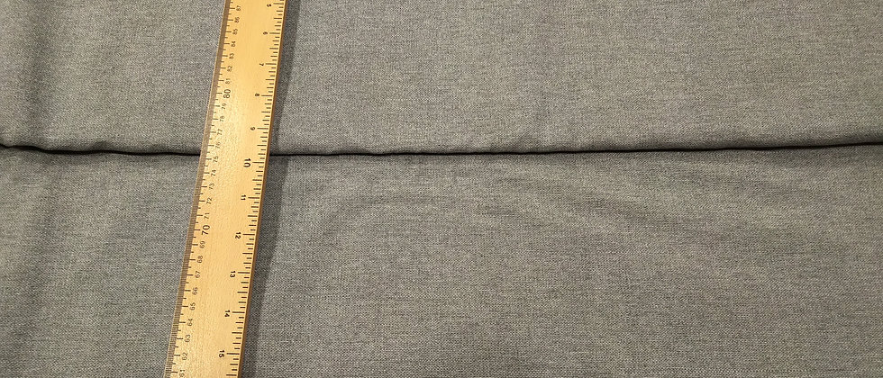 Loneta gris amarronado 2.80m ancho