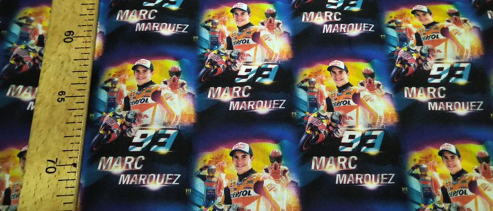 Retal algodón 33x48cm Marc Márquez