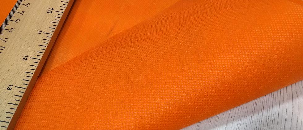 Tejido TNT naranja - 42cm ancho