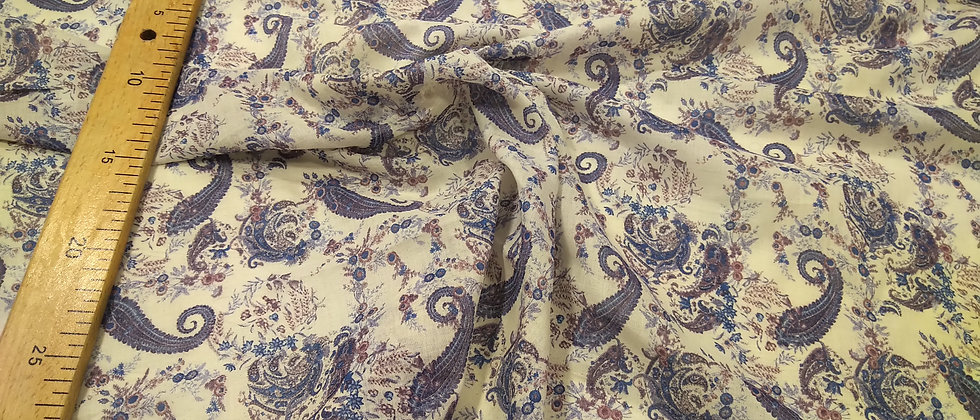 Viscosa de algodón floreado mandalas 2