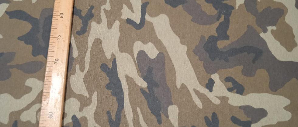 Hule resinado camuflaje 1.40m ancho
