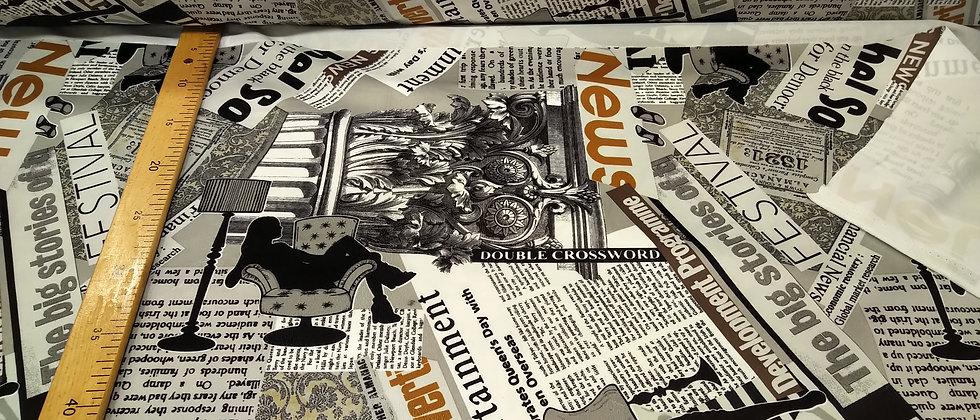 Terciopelo periódico diseño de moda