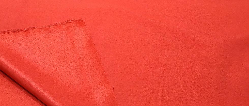 Loneta satinada roja 2.80m ancho