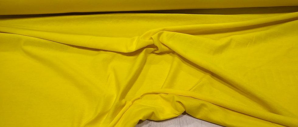 Punto de camiseta amarillo 1.70m ancho