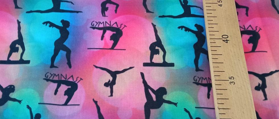 Retal algodón 48x50cm gimnasta