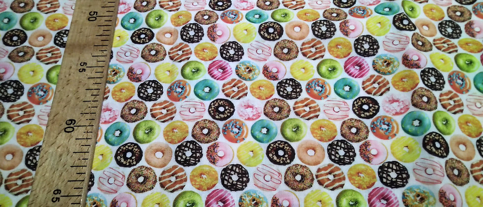 Retal algodón 33x48cm Donuts
