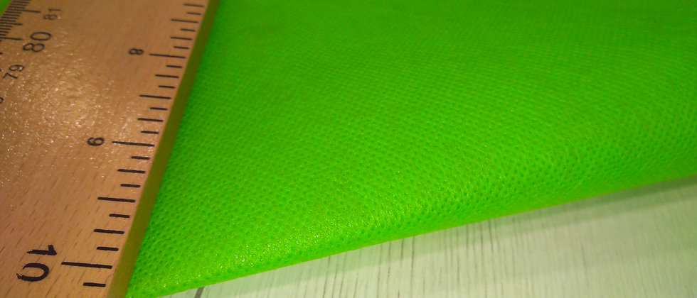 Tejido TNT verde 1m ancho