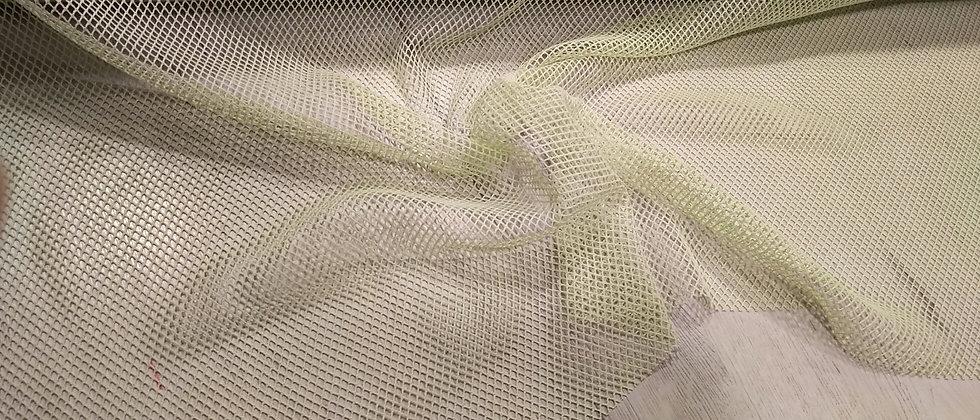 Rejilla de algodón verde mint
