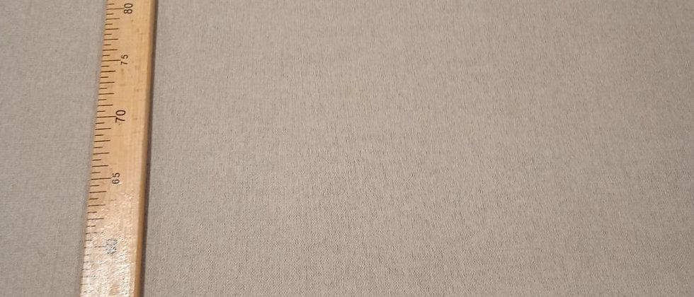 Hule resinado Beige liso 1.40m ancho