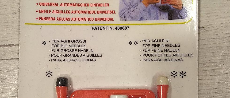 Enhebra agujas automático universal para ciegos