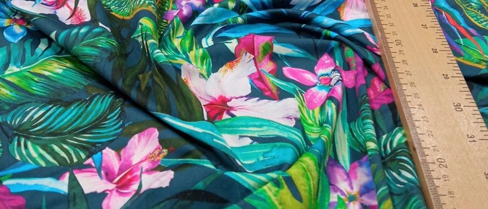 Lycra floral