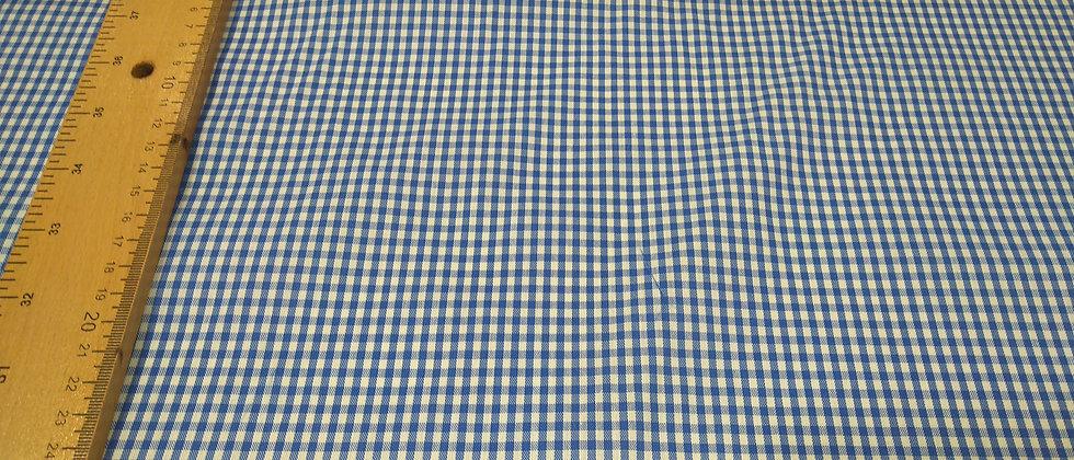 Algodón Vichy Azul