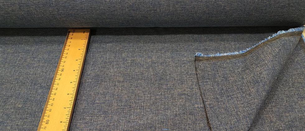 Loneta jaspeada azul 2.80m ancho