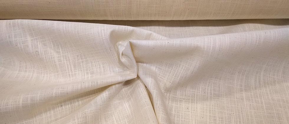 Lino con algodon beige 1.45m ancho