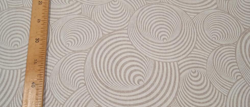 Hule resinado circulos 1.40m ancho