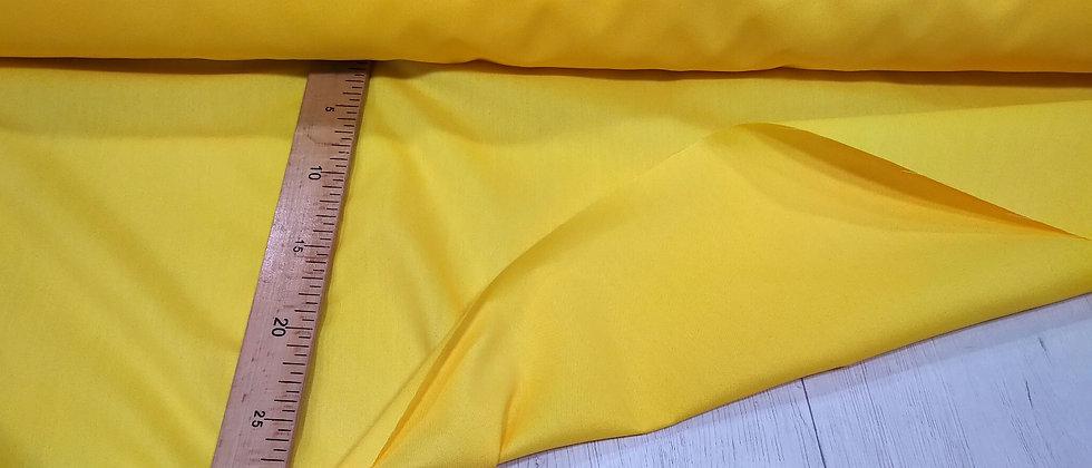 Algodón liso amarillo