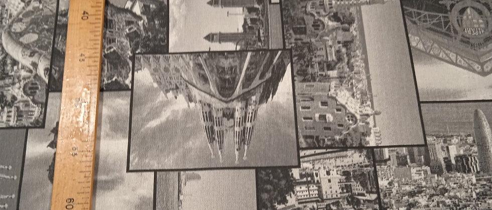 Hule resinado Barcelona 1.40m ancho