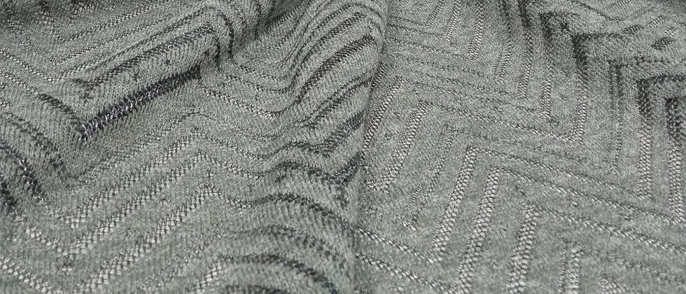 Punto espiga de lana