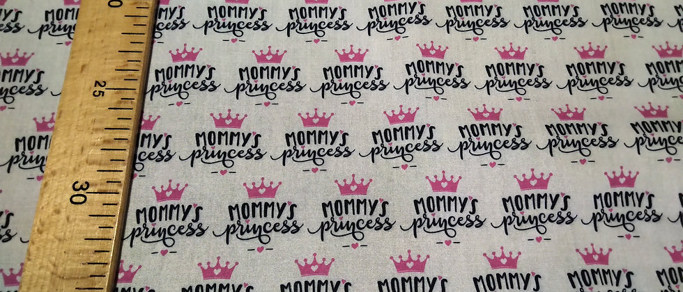 Retal 33x48cm mommy's princess algodón