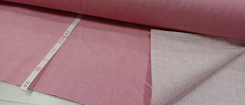 Algodón rosa estampado tejano