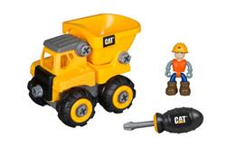 80901 CAT Junior Operator Machine Maker - DUMP TRUCK, FIGURE, SCREWDRIVER