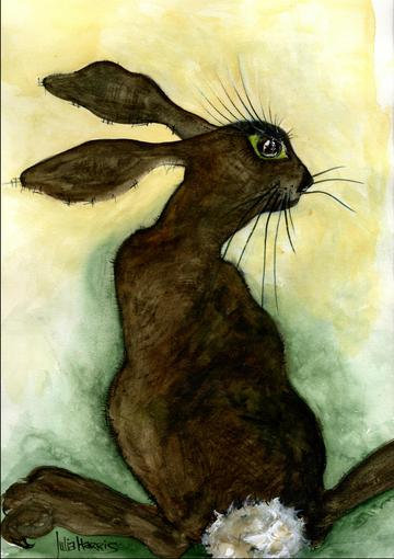 Wish You Were 'Hare' Print