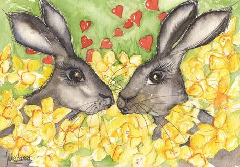 Hares To Luv Original