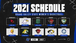 UPDATED 2021 Women's Basketball Schedule