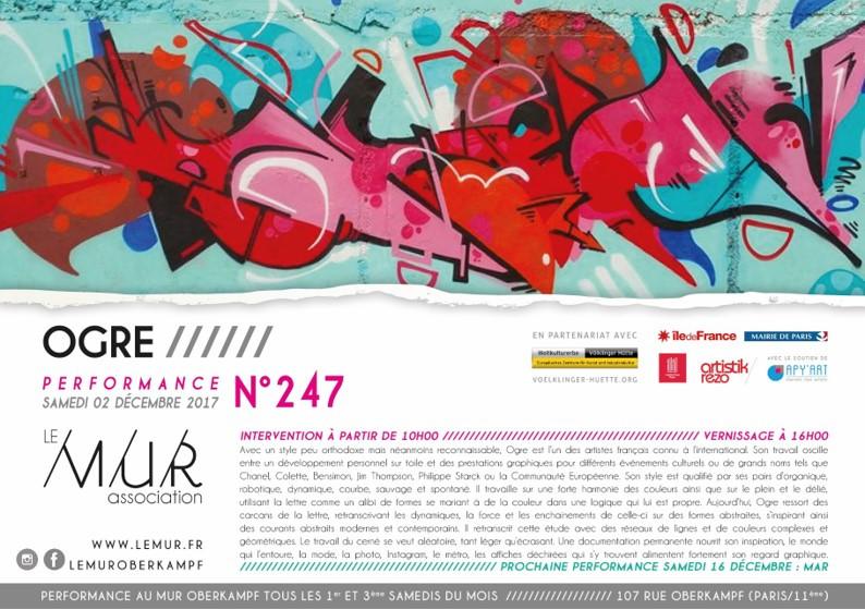 OGRE au M.U.R. Paris