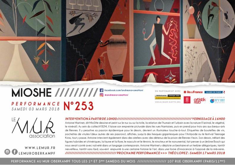 MIOSHE au M.U.R (Paris)
