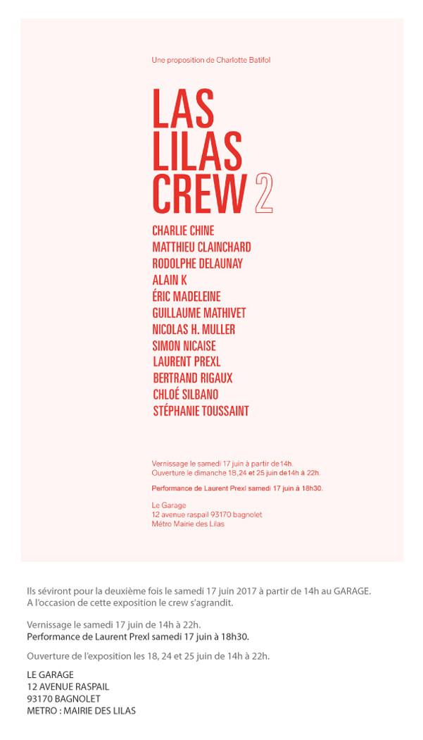 Las Lilas Crew 2 avec Guillaume Mathivet