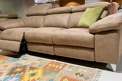 Bolivia 3 seater with 3 recliners