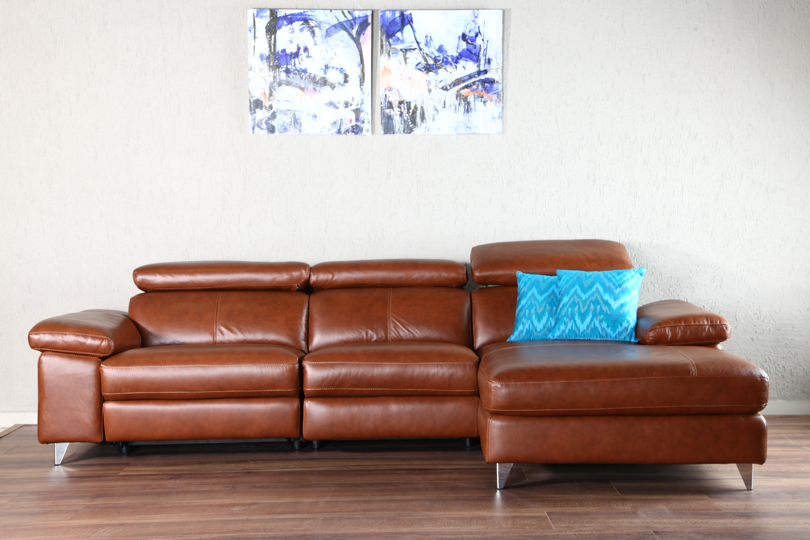 Bolivia Leather Sectional