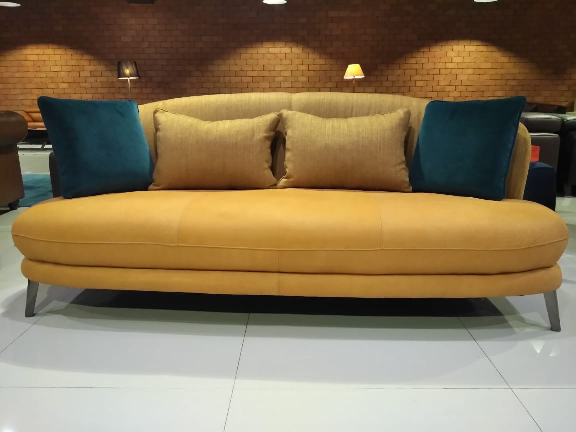 Ziva Curved Back Sofa