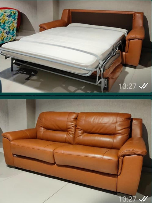 Hanoi Sofabed Half Leather