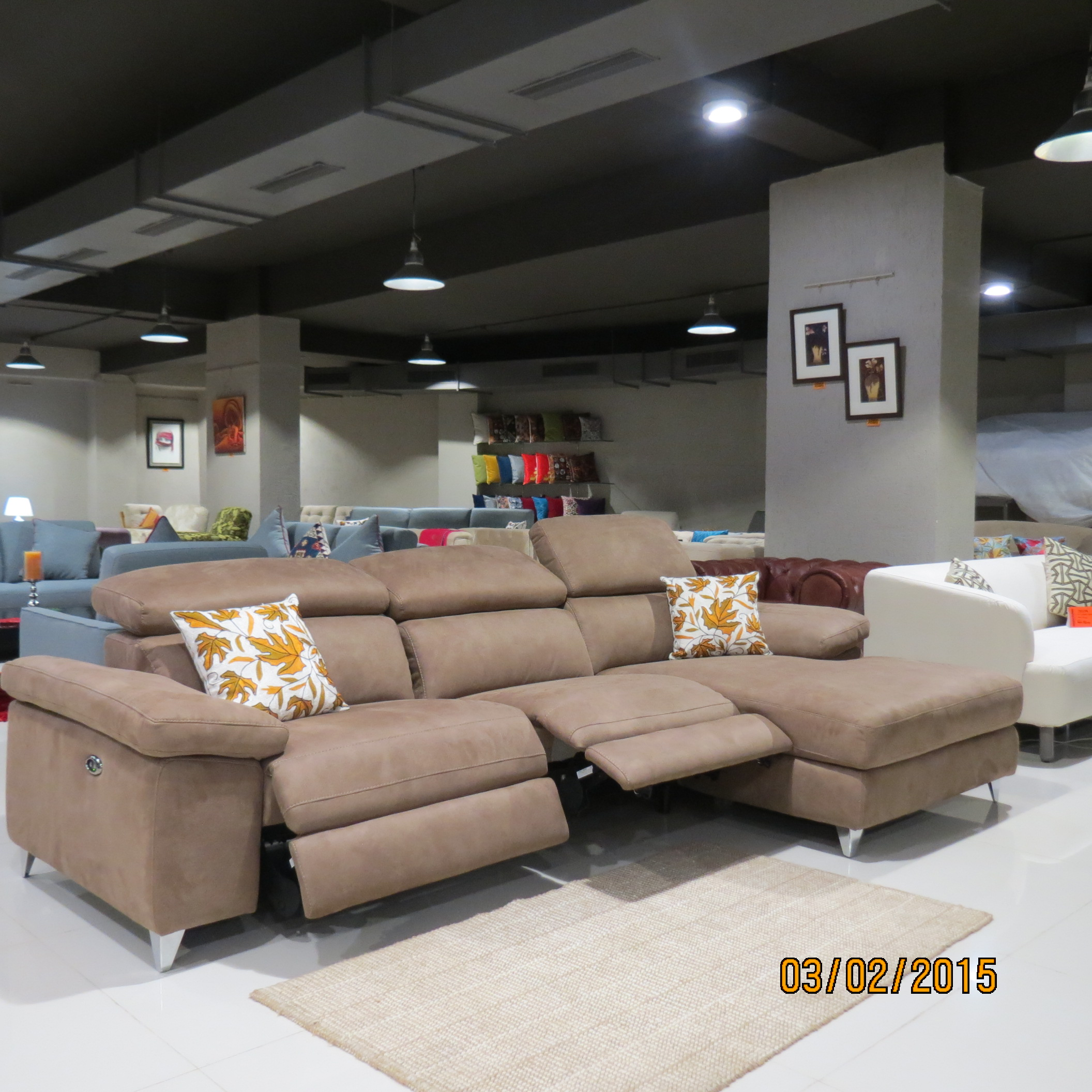 Bolivia Fabric Sectional Sofa