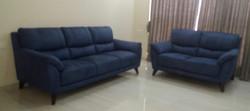Florida Sofa set - fabric & leather