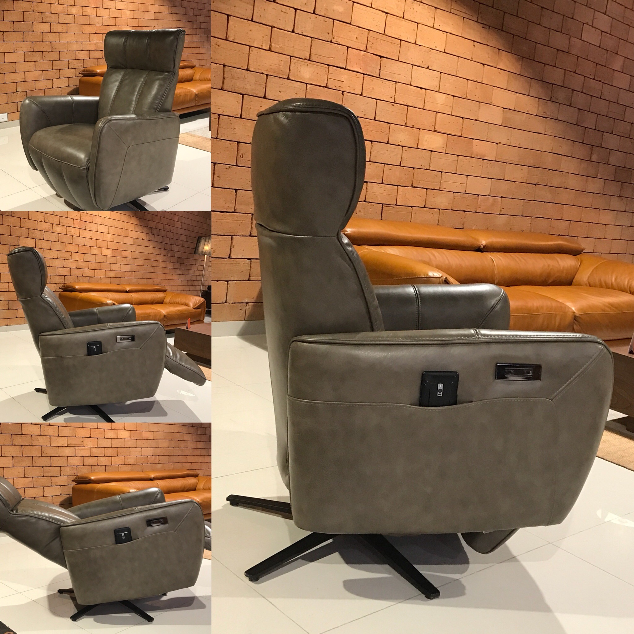 Sicily - double motor recliner