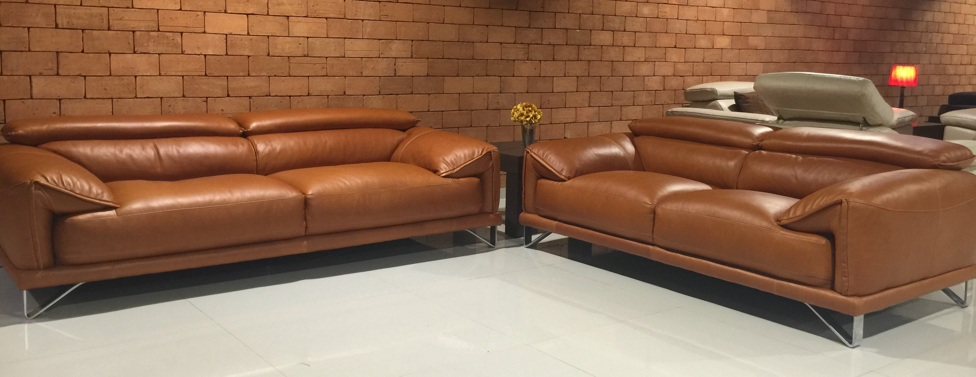 Venezuela Leather Sofa
