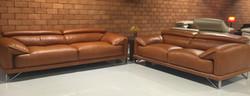 Venezuela Leather Sofa