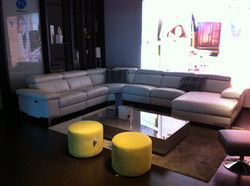 Bolivia sectional full leather