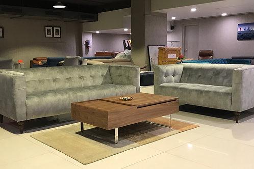 Edinburgh Grey 3&2 Sofa Set