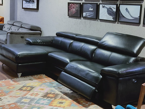 Bolivia Sectional Sofa with recliners