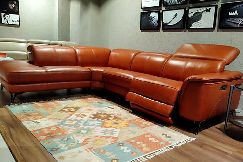 Morocco sectional recliner sofa