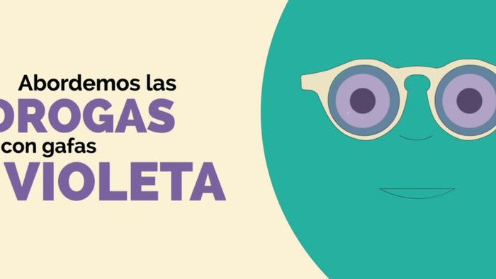 "¿CONOCES EL VIDEO ""ABORDEMOS LAS DROGAS CON GAFAS VIOLETA?"
