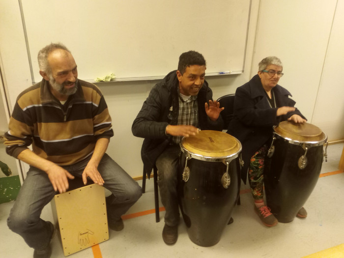 Master Class en Musicoterapia: Cajón flamenco y Congas