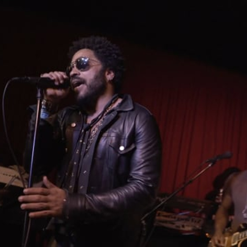 Lenny Kravitz X The Roots: Let Love Rule
